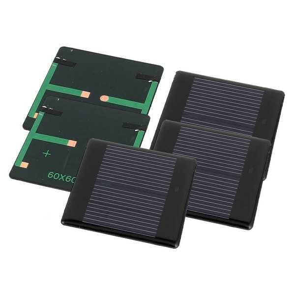 5 Pcs 2V 0.18W DIY Polysilicon Solar Panel Power Cell Battery Charger