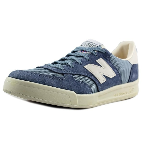 New Balance CT300 Men Round Toe Suede Blue Sneakers