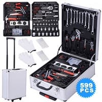 Costway 599 PCS Tool Set Mechanics Tool Kit Wrenches Socket