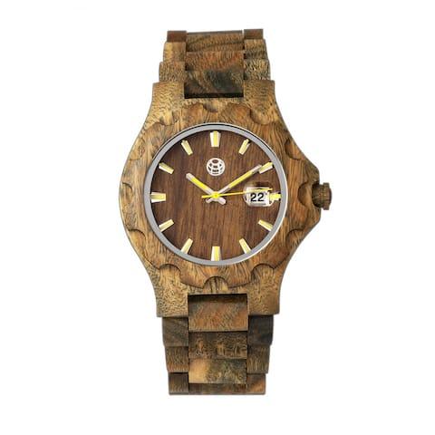 Earth Wood Gila Unisex Quartz Watch, Wood Band