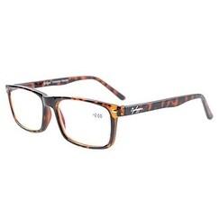 Eyekepper UV Protection,Anti Glare&Blue Rays,Spring Hinges Computer Eyeglasses(DEMI,Yellow Tinted Lenses)+2.00