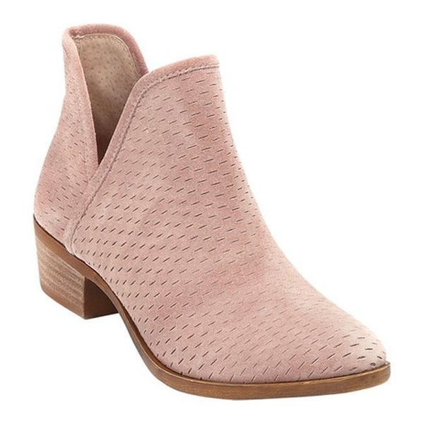 05ba7874bad Shop Lucky Brand Women s Baley Bootie Blush Leather - Free Shipping ...
