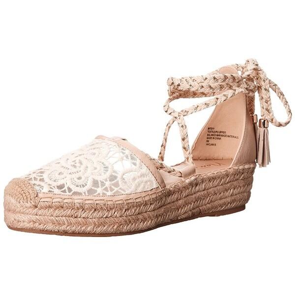 Nanette Lepore Womens Bitsy Cap Toe Casual Espadrille Sandals