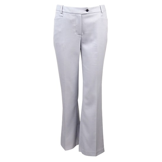 6615065bc211 Shop Calvin Klein Women s Nailhead Modern Fit Dress Pants - LIGHT BLUE -  Free Shipping On Orders Over  45 - Overstock - 17118724