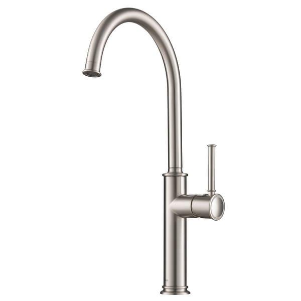 Kraus KPF-1681 Sellette 1-Hole 1-Handle Kitchen Bar Faucet. Opens flyout.