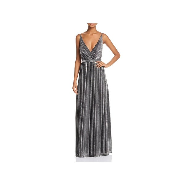 73dbeb7333495 Laundry by Shelli Segal Womens Evening Dress Metallic Special Occasion