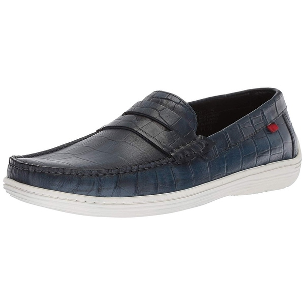 Marc Joseph New York Mens Leather Atlantic Loafer Driving Style