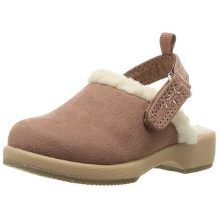 OshKosh B'Gosh Kids' Queen Girl's Sherpa Clog, Pink, Size 8 M US Toddler