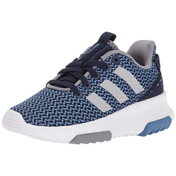 7712799b62 Adidas Kids Cf Racer Tr Running Shoe, Collegiate Navy/Collegiate Navy/Grey,  5 M Us Big Kid