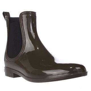 I35 Rubiee Pull On Ankle Rainboots, Olive