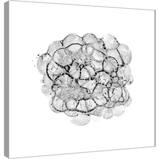 "PTM Images 9-100497  PTM Canvas Collection 12"" x 12"" - ""Cellular Cloud B"" Giclee Abstract Art Print on Canvas"