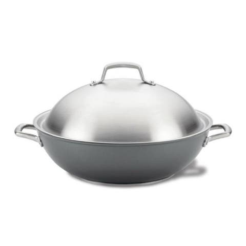 Anolon 81116 Accolade 13.5-Inch Wok with Lid