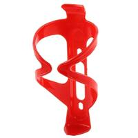 Travel Cycling Mountain Bike Drink Water Bottle Holder Cage Red 14.5x7cm