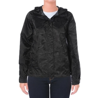 The North Face Womens Packable Coat Waterproof Camo