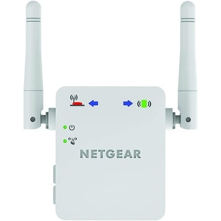 NETGEAR WN3000RP N300 Wireless WiFi Range Extender Repeater Latest Version WN3000RPv3 - Multicolor