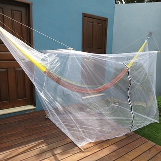 Sunnydaze Extra Large Hammock Mosquito Net 78 Inch Long x 36 Inch Wide