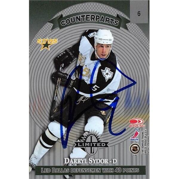 Shop Darryl Sydor Autographed Hockey Card, Dallas Stars