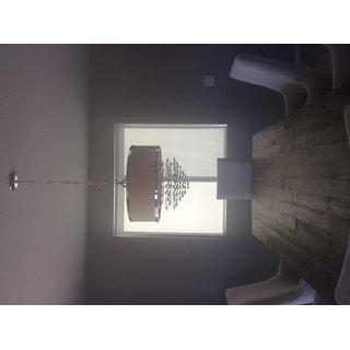 Uttermost Fascination 3-light Off-White Drum Pendant