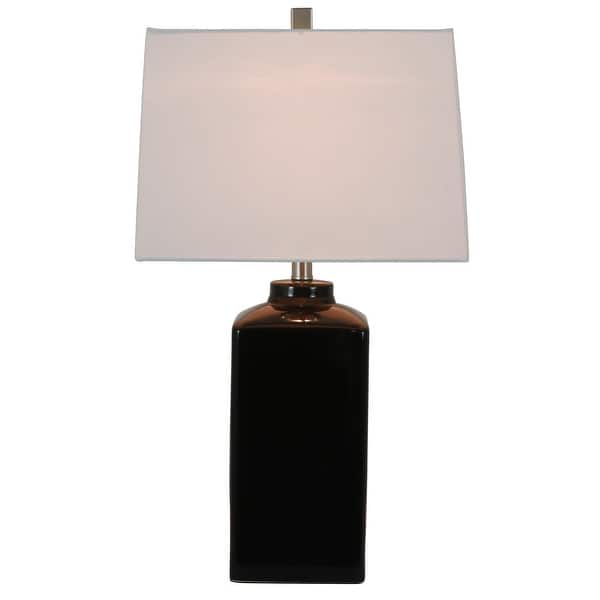 Porch Den Spruce 26 5 Inch Square Ceramic Table Lamp On Sale Overstock 20616404
