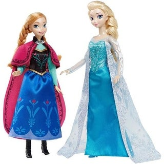 Disney Signature Collection Frozen Anna and Elsa Doll Set