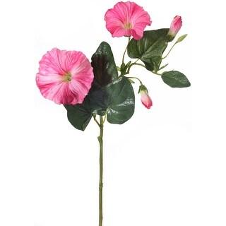 "Morning Glory Spray 24""-Pink"