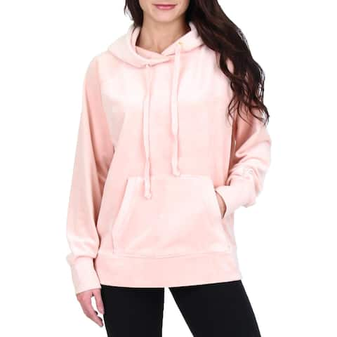 Juicy Couture Black Label Womens Hoodie Velour Track