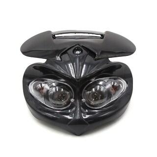 Motorcycle Streetfighter Warm White Headlight Fairing Amber Indicator Lamp