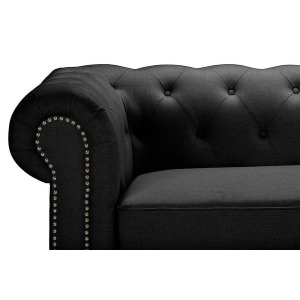Astounding Shop Cassandra Rolled Arm Grey Linen Upholstered Gamerscity Chair Design For Home Gamerscityorg