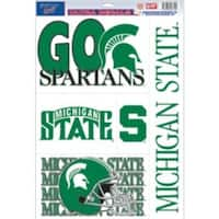 Michigan State Spartans Decal 11x17 Ultra