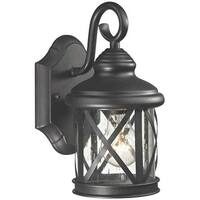 Boston Harbor LT-H01 Outdoor Porch Lantern, Black