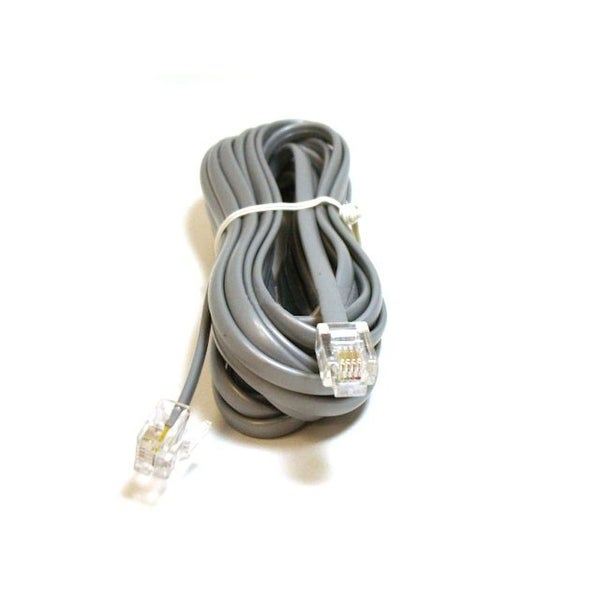 Monoprice Phone Cable, RJ11 (6P4C), Reverse - 14ft for voice