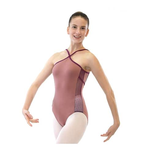 Veva by Very Vary Women Mocha Ivy Dance Leotard