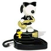 Snoopy Dancing Desk Phone
