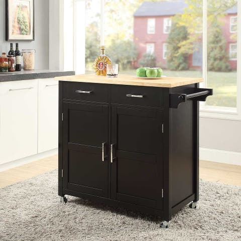 """Small Kitchen Cart 36""""Lx20""""Wx36""""H. By Belray"""