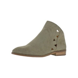 Lucky Brand Womens Jakeela Booties Cut-Out Suede