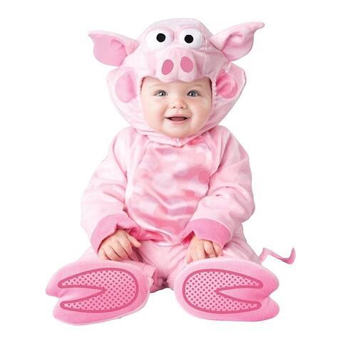 Precious Piggy Infant Costume - Pink