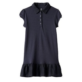Chaps School Uniform Polo Dress Girls CCG0009H