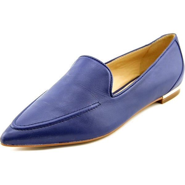 Ivanka Trump Zariner Women Pointed Toe Leather Blue Loafer