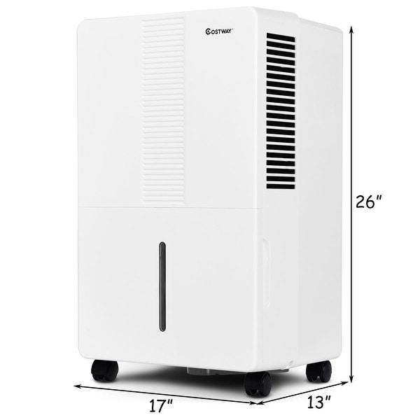 Portable 30 50// 70 Pint Dehumidifier Humidify Control Fan