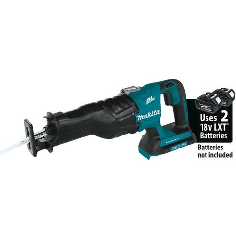 Makita XRJ06Z 18V X2 LXT Lithium-Ion Brushless Cordless Recipro Saw (Tool Only) - TEAL
