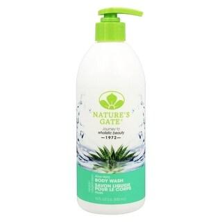 Nature's Gate Body Wash Moist Aloe Vera 18-ounce