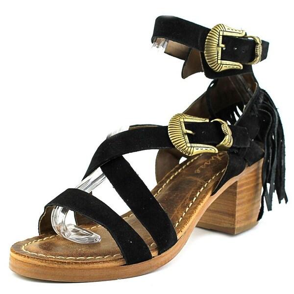 Matisse Titus Women Open Toe Leather Black Sandals