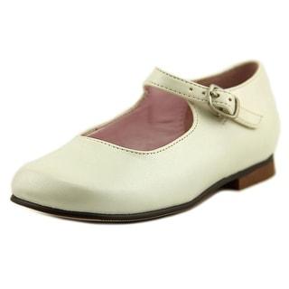 Nina Kids Bonnett Square Toe Leather Mary Janes