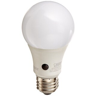 Feit Electric BPA800/850/DD/LED A19 Dusk Till Dawn LED Light Bulb, 3000K