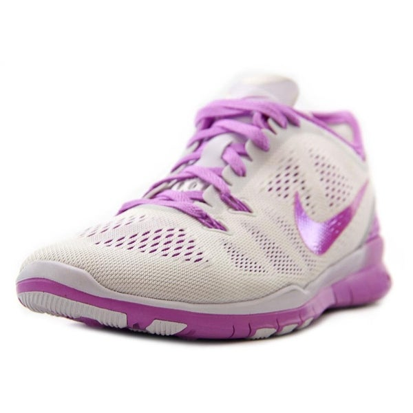 f49e56faad24 Shop Nike Free 5.0 TR Fit 5 Brthe Women Round Toe Canvas White Running Shoe  - Free Shipping Today - Overstock.com - 13575324