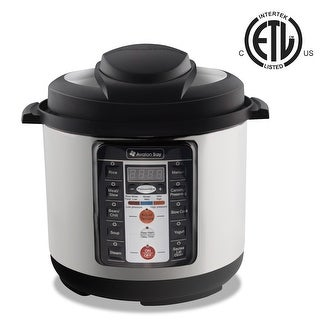Avalon Bay Multi-Function Pressure Cooker PC1000SS - Silver