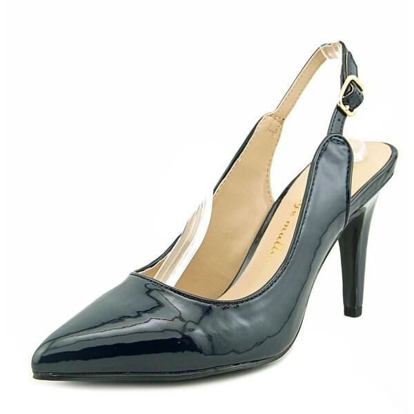 Ann Marino by Bettye Muller Karma Women Open-Toe Synthetic Blue Slingback Heel