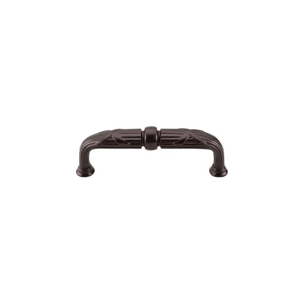 "Top Knobs M937 Ribbon 3-3/4"" Center to Center Handle Cabinet Pull from the Edwardian Series - Oil Rubbed bronze"