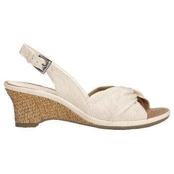 Aerosoles Womens Zenthusiasm Canvas Open Toe Casual Platform Sandals