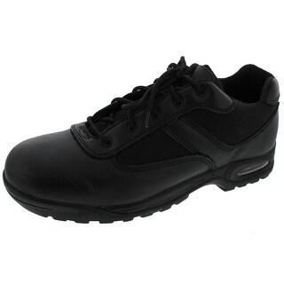 Ridge Footwear Mens Air Tac Oxfords Leather Round Toe - 11 medium (d)